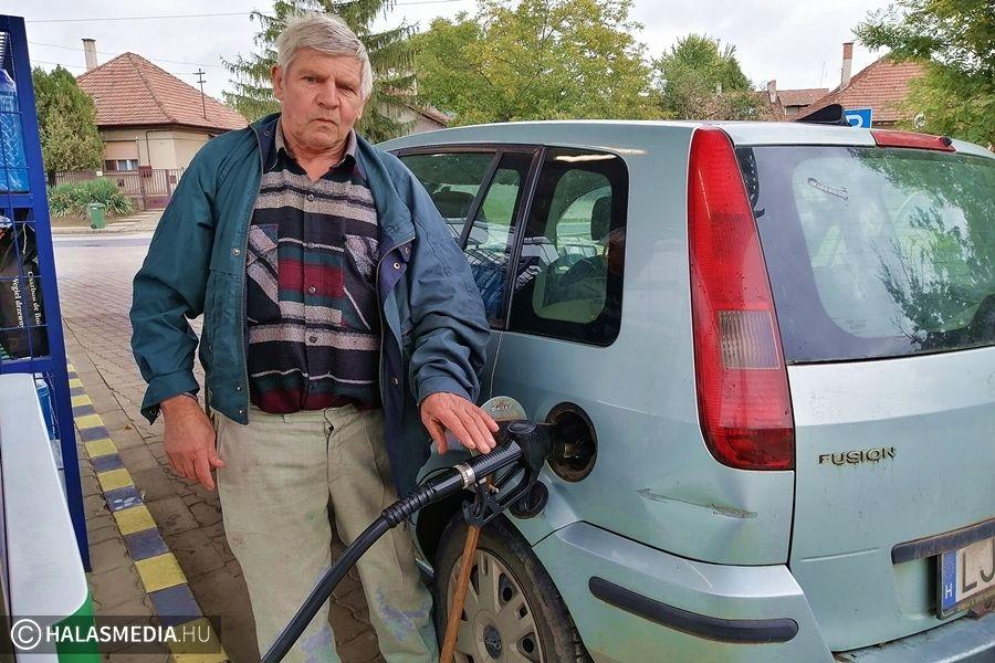 (►) Bosszankodnak az autósok az üzemanyagárak miatt
