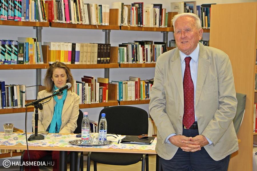 Czigány György és Simon Erika kettős könyvbemutatója