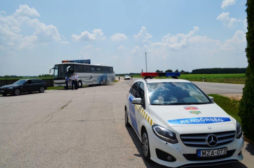 Külföldi gyorshajtókat kapcsoltak le a rendőreink