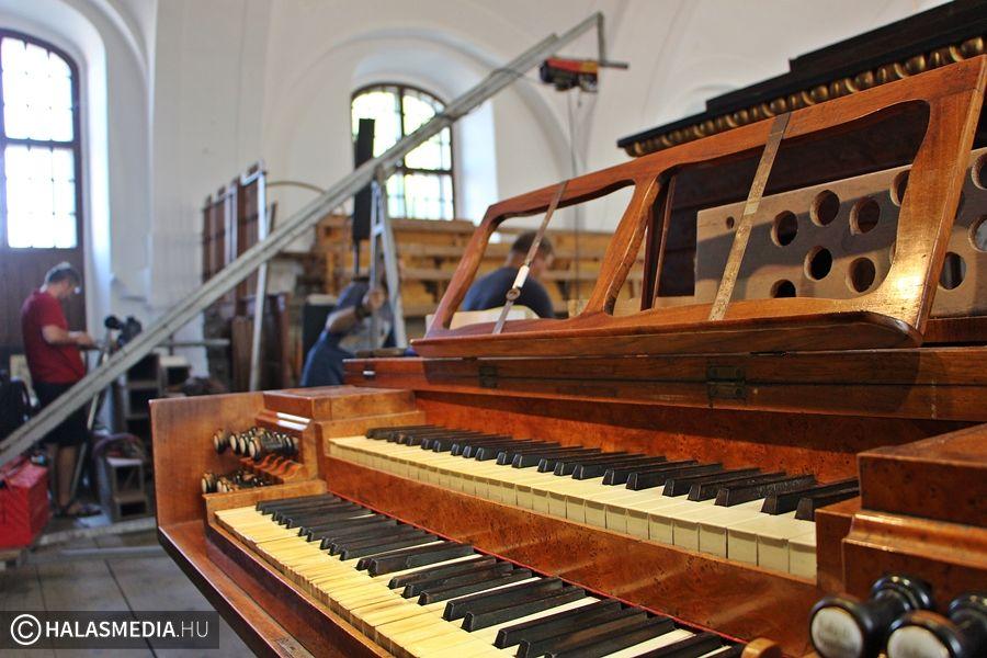 2020 tavaszán szólhat újra a református templom orgonája