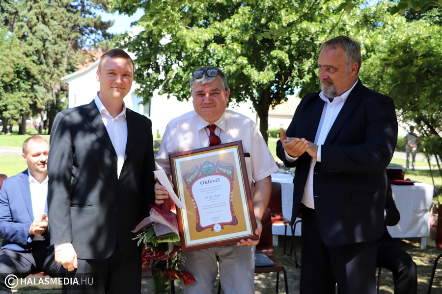 Dr. Egri Antal megyei elismerést kapott