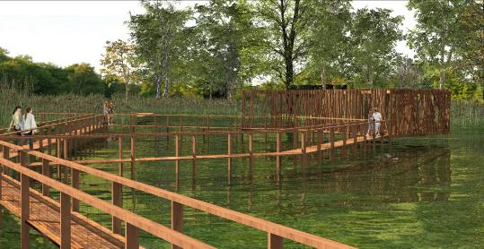 Indulhat a Csetényi park fejlesztése