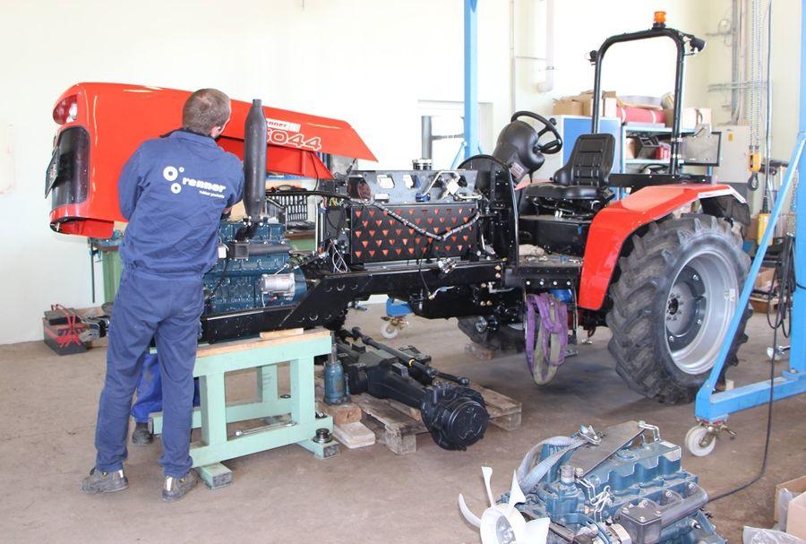 Renner traktor: a sorozatgyártást tervezik
