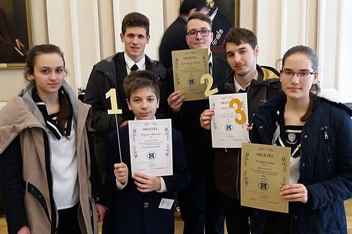 Országos matematikaversenyen remekeltek a sziládysok
