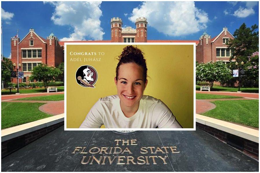 Adél a floridai egyetemen folytatja