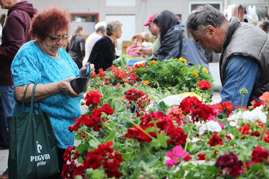 A tavasz meghozta a piacozási kedvet (galéria)