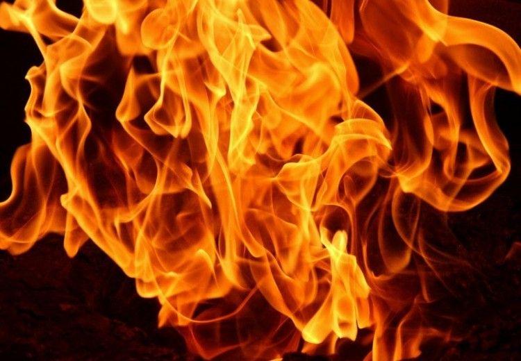 Leégett egy jánoshalmi melléképület