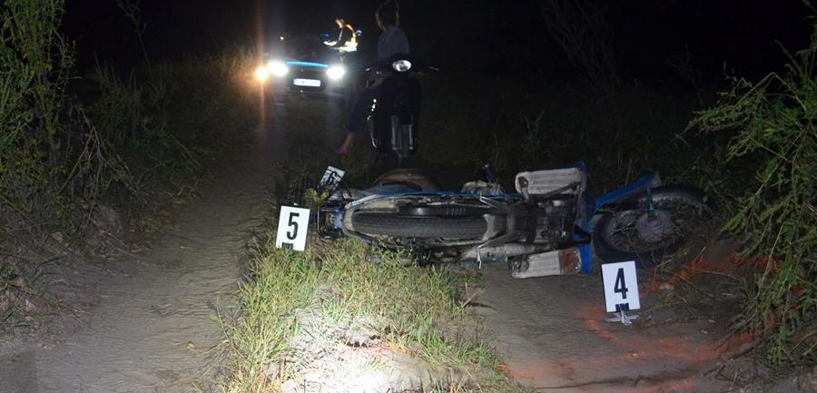 Halálos motoros baleset Tompán