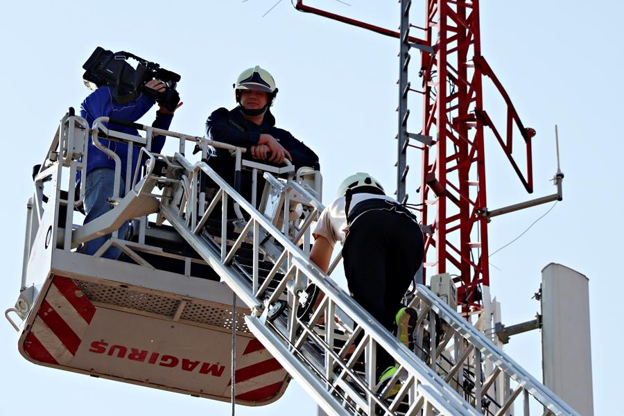 Felvételi volt a halasi tűzoltóságon (galéria)