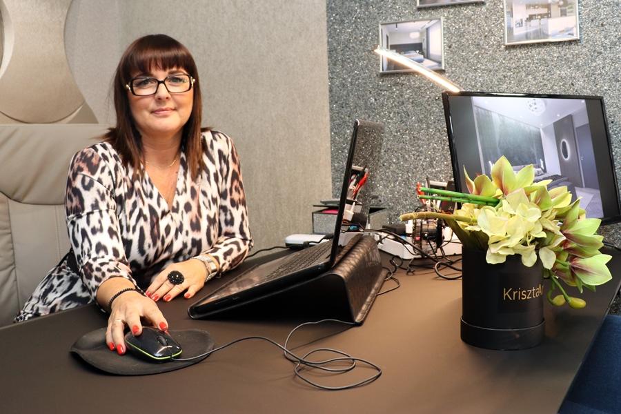 Krisztina lett az év pályakezdő lakberendezője