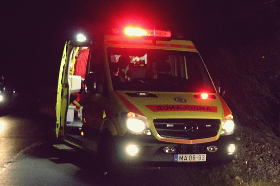 Így telt a szilveszter és az újév a mentőknél