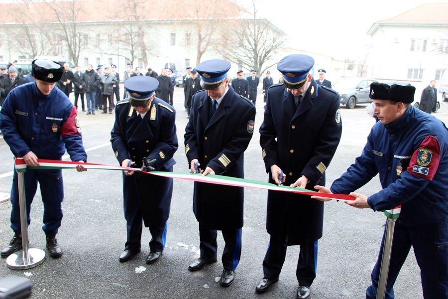 Új épületekben a Készenléti Rendőrség halasi százada (galéria)