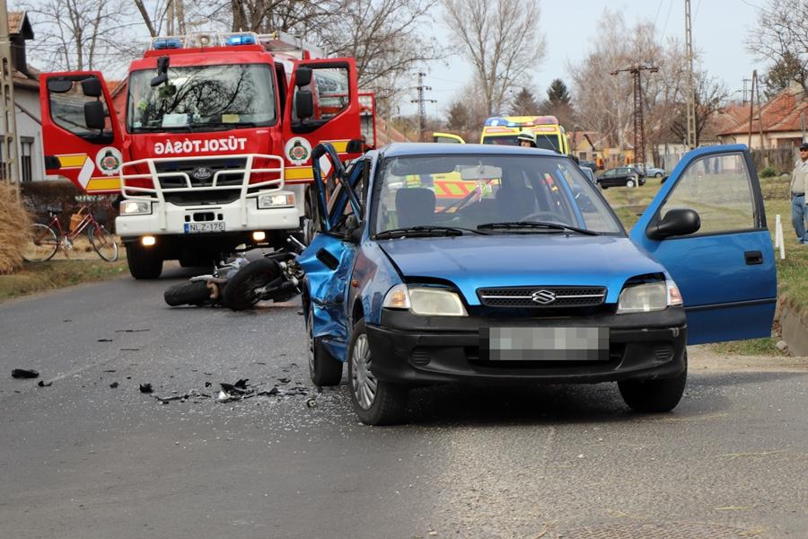 Három sérült a Tó utcai balesetben (galéria)