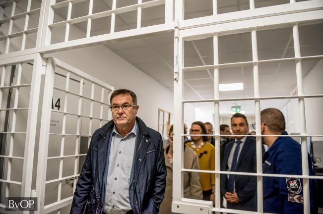 (►) Külföldi börtönvezetők látogatása Kiskunhalason