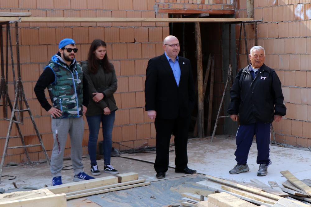 Jól halad a birkózócsarnok építése