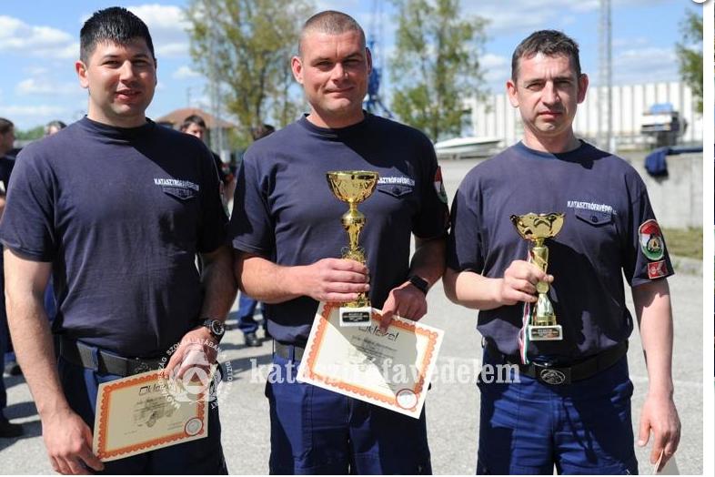 A tűzoltósofőrök között is a halasiak a legjobbak