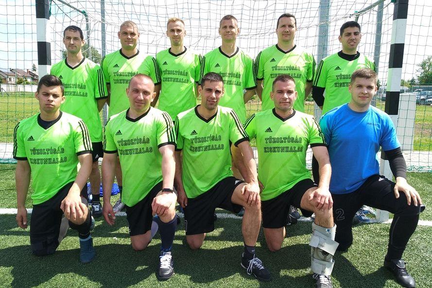 Halasi tűzoltók nyerték a megyei focibajnokságot