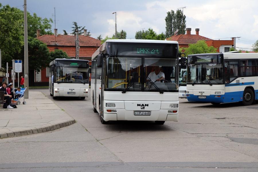 Figyelem! Változik a buszmenetrend