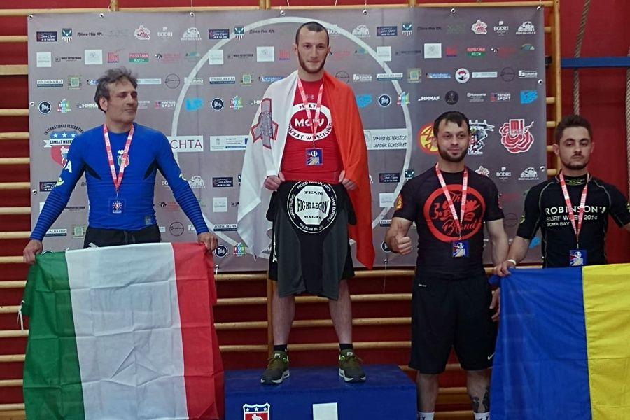 Európa-bajnoki bronzérmet nyert Csapi Antal