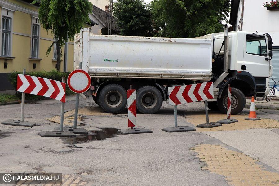 Vízhiány lesz csütörtökön a Szent Imre utcában