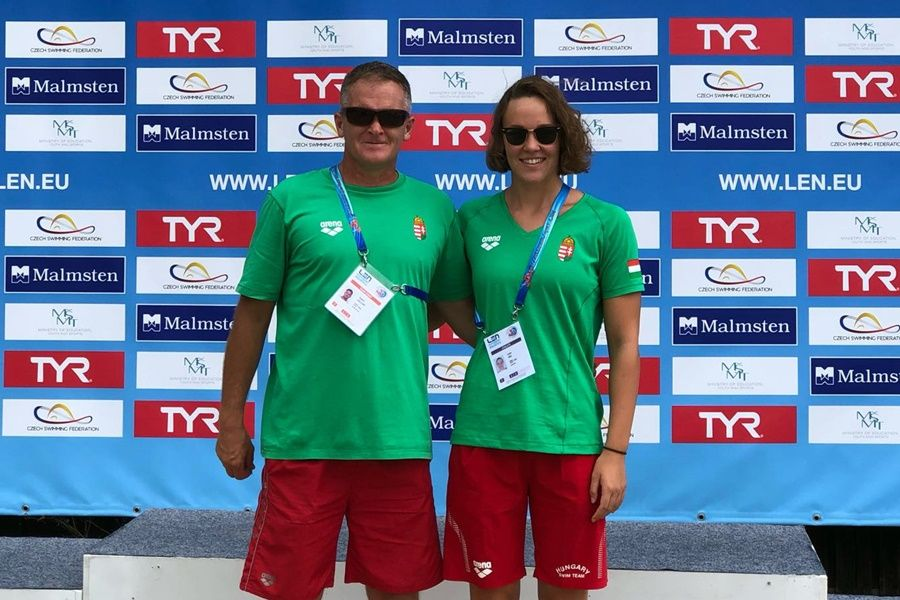 Junior úszó EB: Luca a 8., Janka a 13. helyen zárt