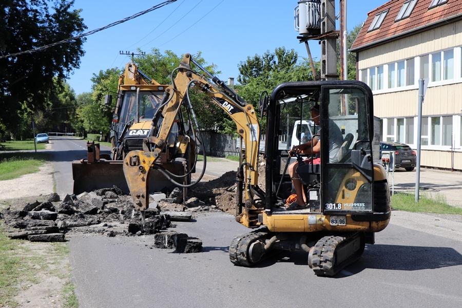 Figyelem! Újra zárva a Thorma János utca