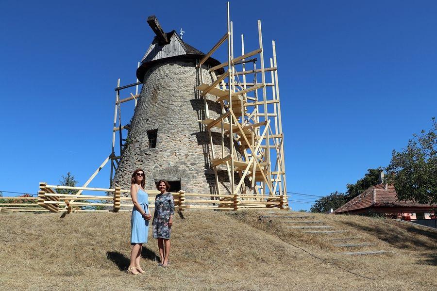 Elkezdődött a Sáfrik-féle malom felújítása