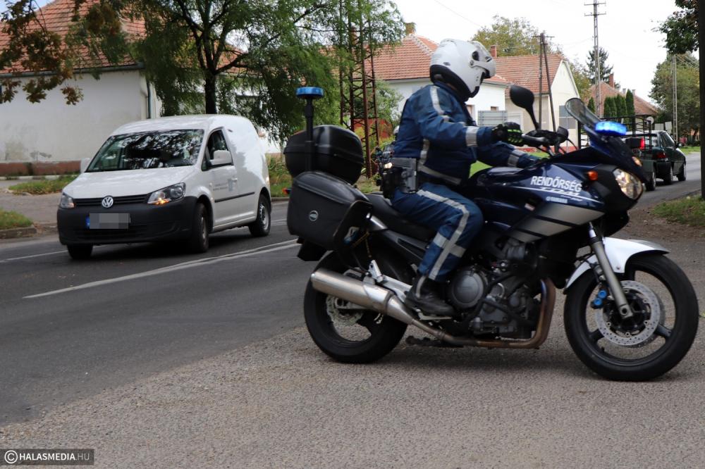 Szolgálatban a motoros járőrök (galéria)