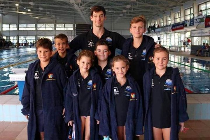 Négyérmes szezonnyitó a halasi úszóknál