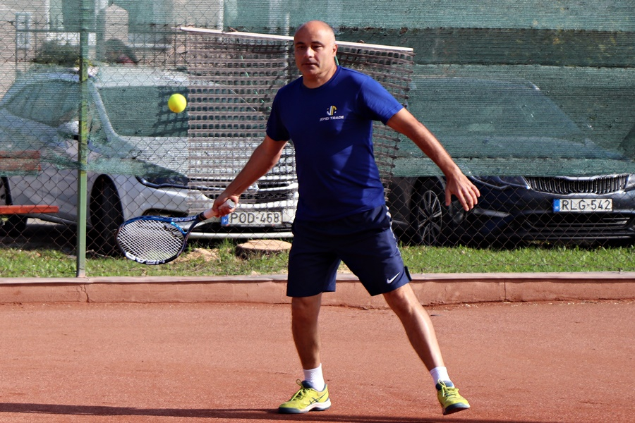 Tenisszel emlékeztek Baksa Lászlóra (galéria)