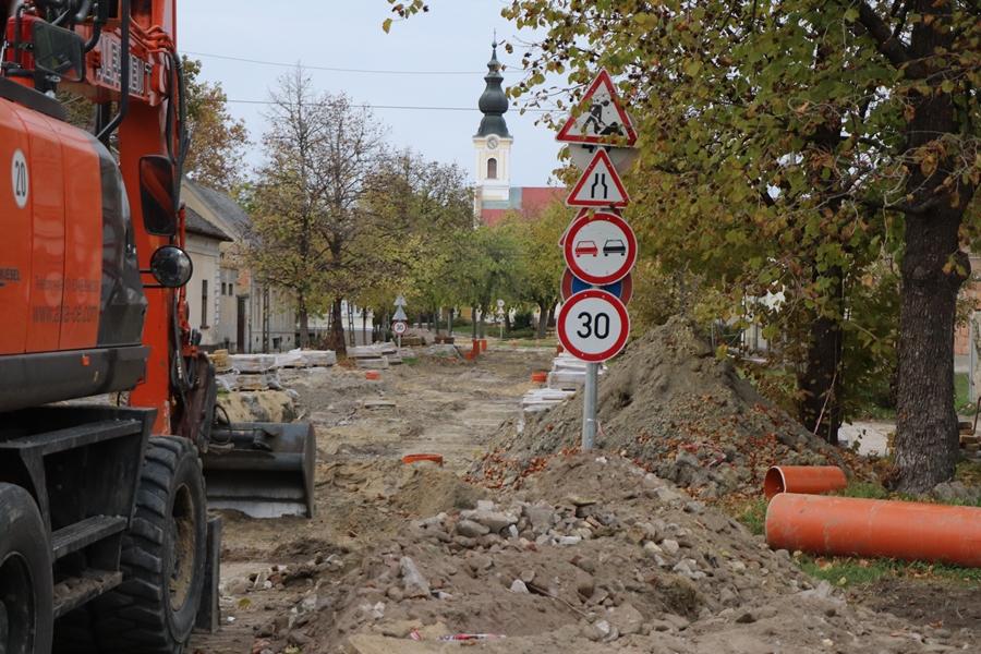 Tájékoztató a városi útfelújításokról
