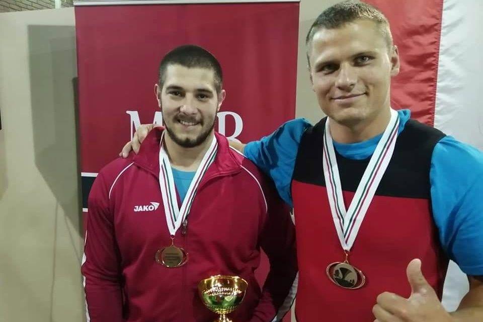 Szalai Róbert bronzérme a súlyemelő országos bajnokságon