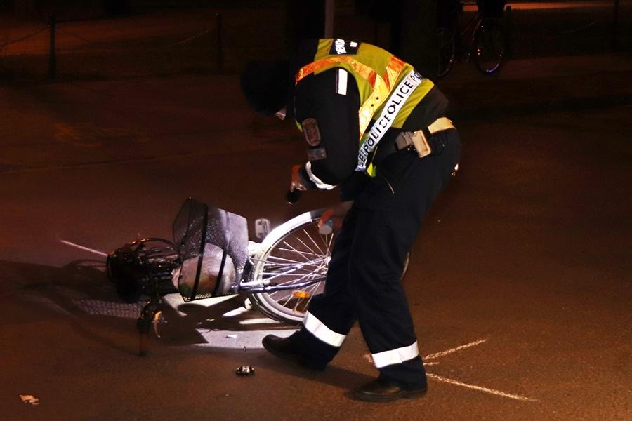 Kerékpáros-baleset Tompa közelében