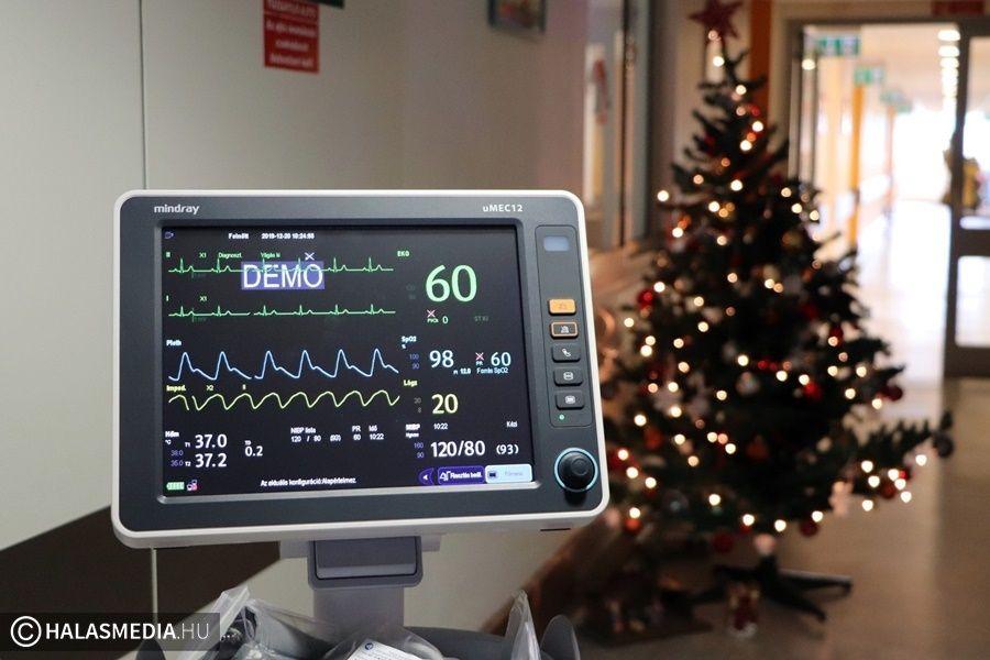 Új betegőrző monitort kapott a kórház (galéria)