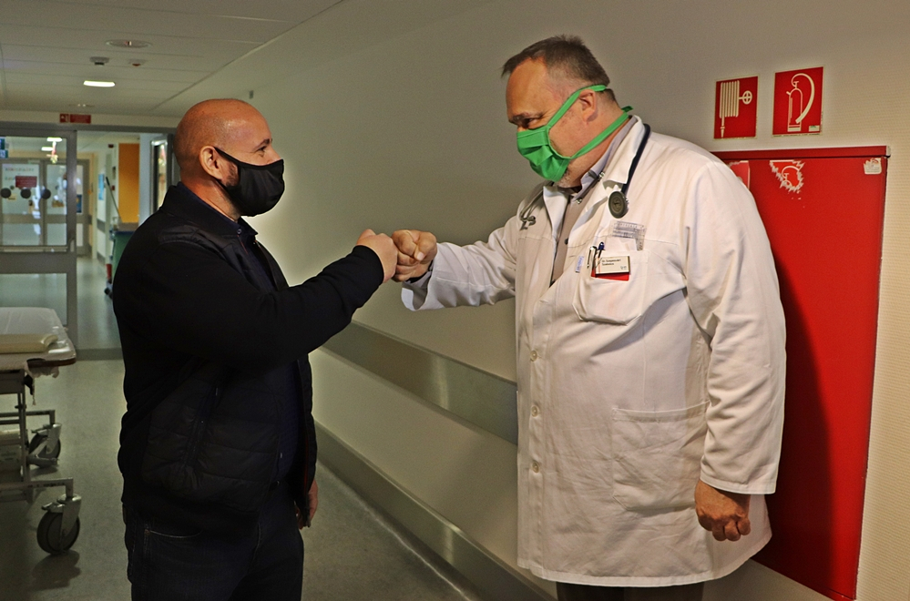 Újabb pénzadományt kapott a kórház
