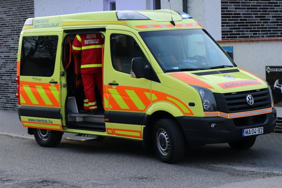 Halasi mentők: 15 szilveszteri riasztás