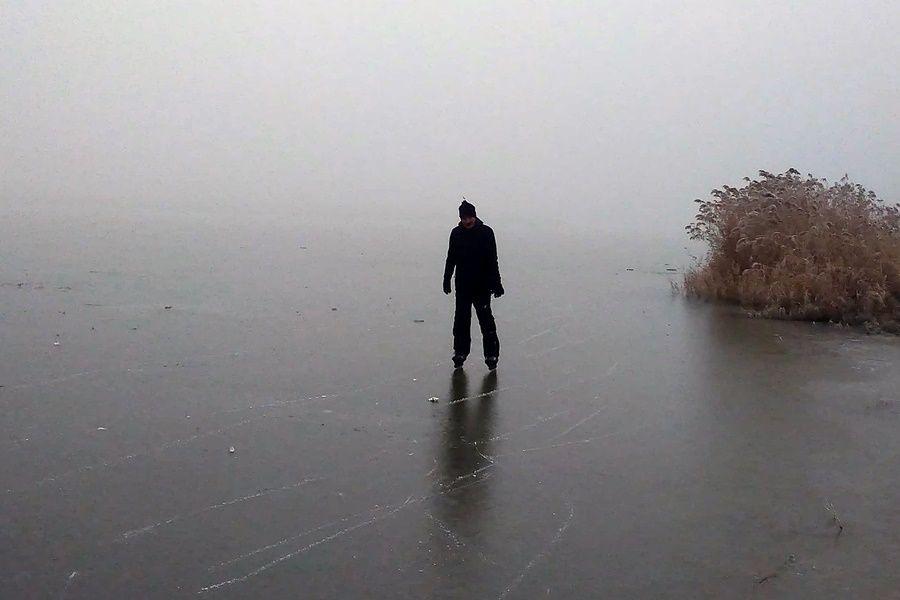 Vékony még a jég, ne menjenek rá!