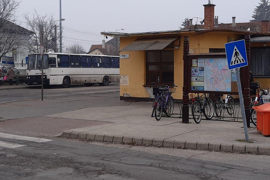 A halasi buszállomásig utaztak a migránsok
