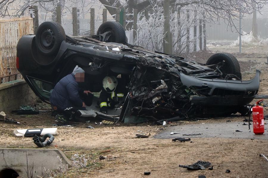 Halálos baleset Tompa közelében (galéria)