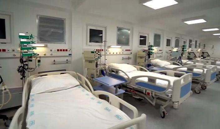 (►) Ilyen lett az új járványkórház