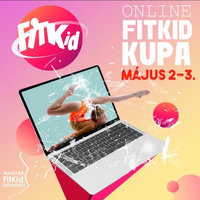 Halasiak az első online fitkid versenyen