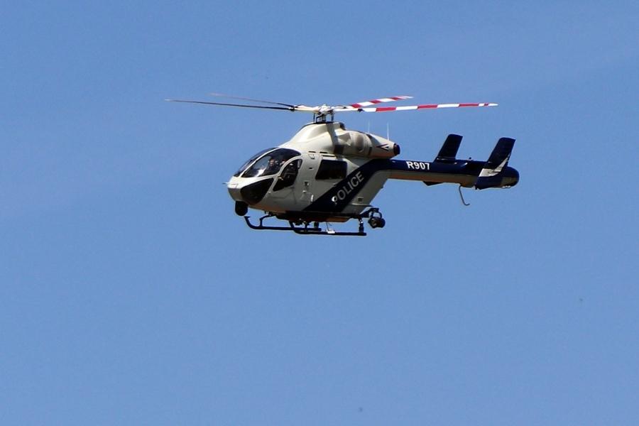 Ezért volt rendőrhelikopter Kiskunhalas térségében