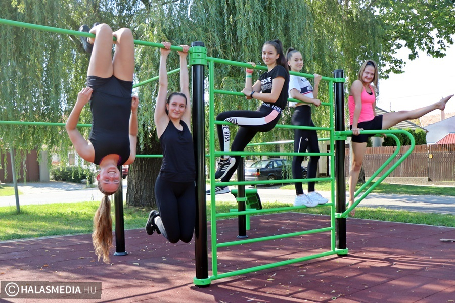 Már használható a Szent György téri fitneszpark (galéria)