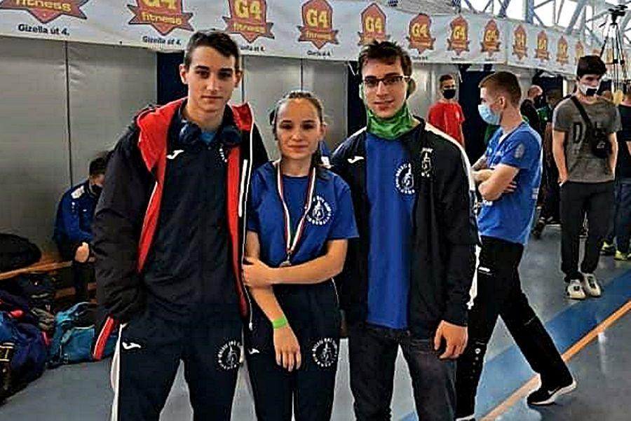 Halasi érem a junior ökölvívó magyar bajnokságon