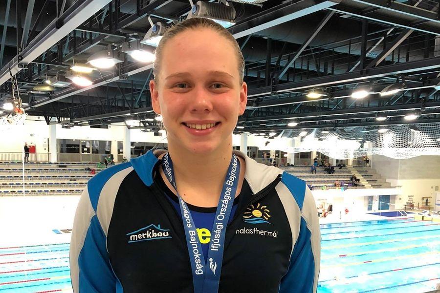 Varga Kata bronzérme az országos bajnokságon