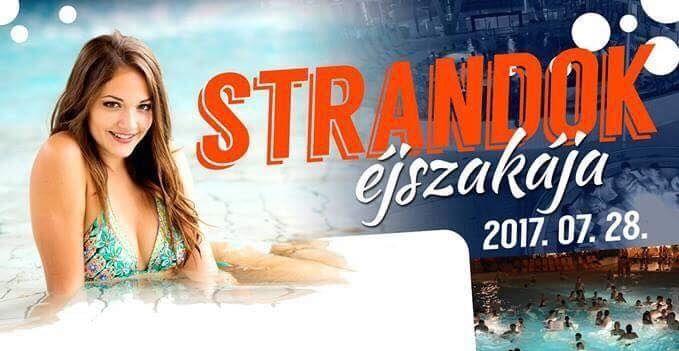 Halas is a Strandok Éjszakája programban