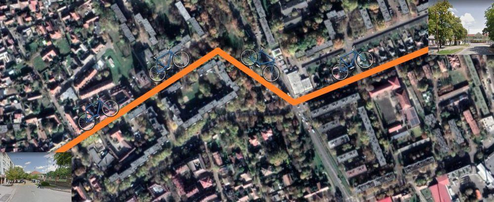 Indul a belvárosi kerékpárút építése is