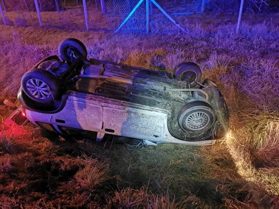 Mélykúti baleset: nem sérültek meg az Opel utasai