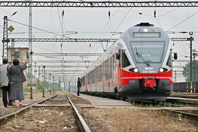 Vasút – módosított menetrend a fővárosba