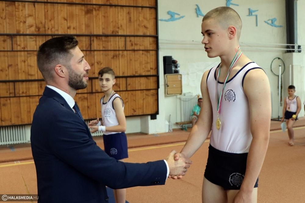 (►) Olimpiai bajnok vendége volt a Fazekas Kupának (galéria)